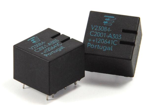 2 NEUE Siemens Tyco Relais V23084-C2001-A303 GM5 ECU BMW E46 X3 E39 E38