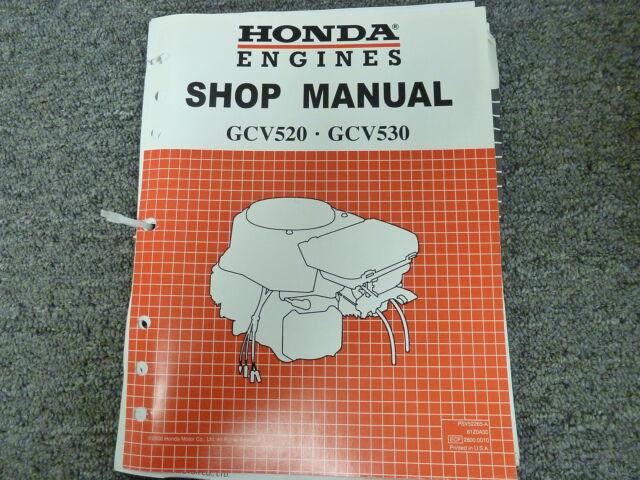 honda gcv520 gcv530 engine service repair shop manual ebay rh ebay com honda gx390 engine parts manual honda engine repair manual pdf