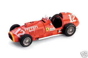 Ferrari 375 F1 12 Ascari 500 Miles Indy 1952 Brumm 1 43 R126 Ebay