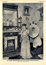 Adelina Patti Die berühmte Koloratursopranistin in Ihrem Schloß Craig-y- Nos1906