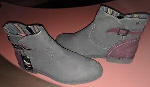 38afficher taille Marc Walking femme nubuck le d'origine Graphite Of Art sur titre Chaussures 7 Détails 5euro Bottines xdoCeB