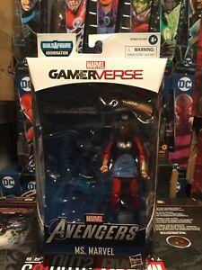 Avengers Marvel Legends Abomination Ms. MARVEL Action Figure Gamerverse No BAF