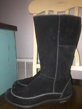 """PATAGONIA BOOTS """"KATALLA"""" WOMEN'S SIZE 7.5 Black ~SUEDE/LEATHER~ NICE!!"""
