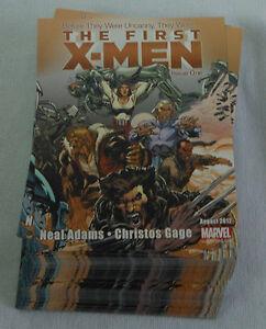 Dealer-039-s-Lot-of-49-comic-promo-cards-2012-Marvel-THE-FIRST-X-MEN