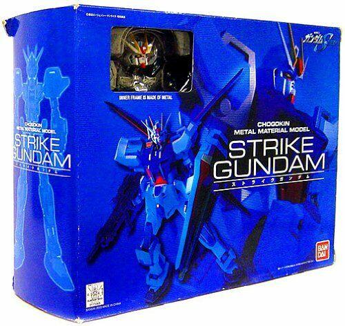 Modelo Gundam Seed Chogokin Metal material Golpe Gundam