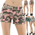 Sexy Women Summer Camouflage Hot Pants Shorts Jeans Ladies Trouser Size 8 10 12