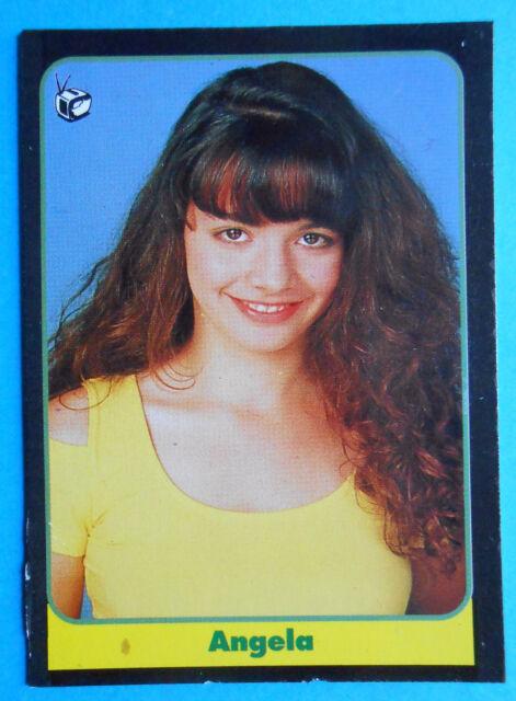 figurines cromos figurine masters cards 106 1993 angela di cosimo non è la rai f