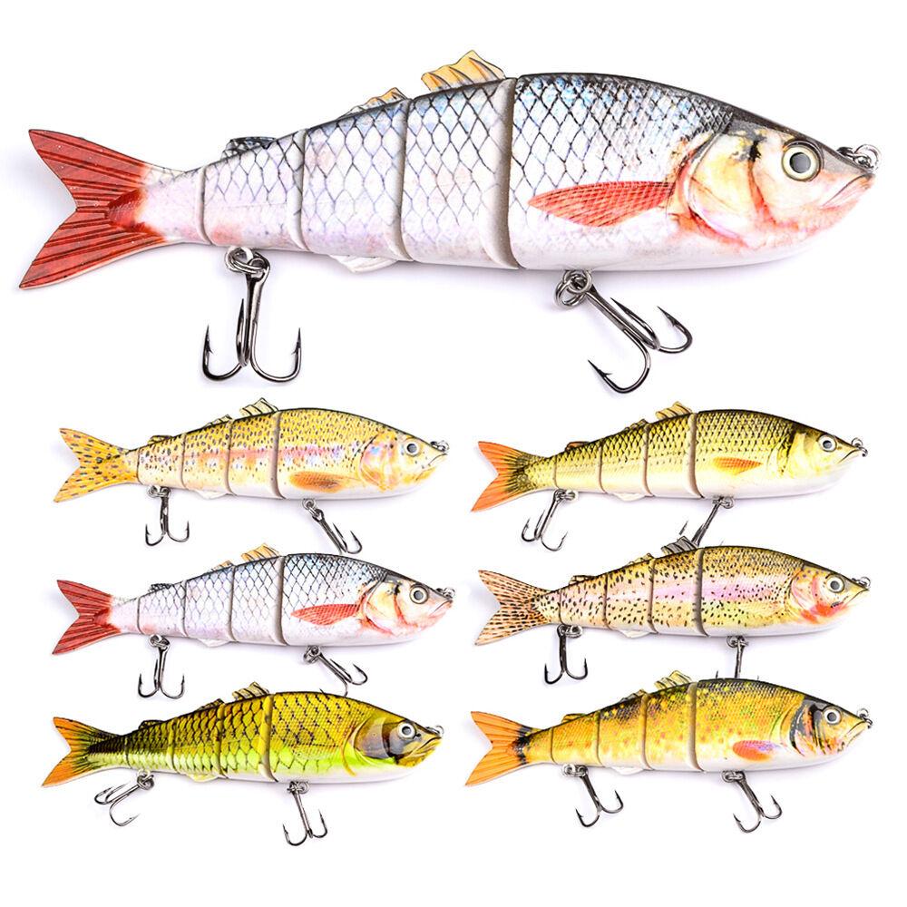 6 un. enorme  Señuelos agua de mar pesca Señuelos cebo tackle bajo 26cm 177g Swimbait  en promociones de estadios