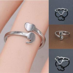 Semicolon-Rings-Girl-Adjustable-Silver-Fashion-Women-Ring-Elegant-Gifts-Ring-G