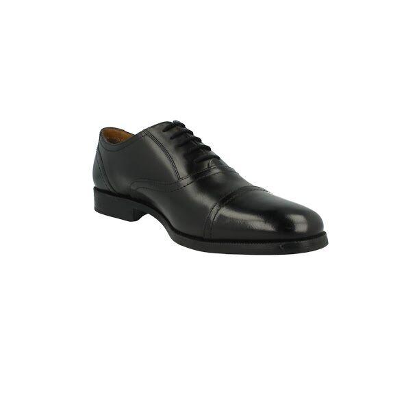 Herren Clarks Leder schwarz formelle Schnürschuh Style - Holter Halter G
