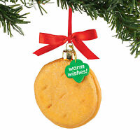 4053398 Dept 56 Girl Scout Peanut Butter Do Si Dos Cookie Glass Ornament