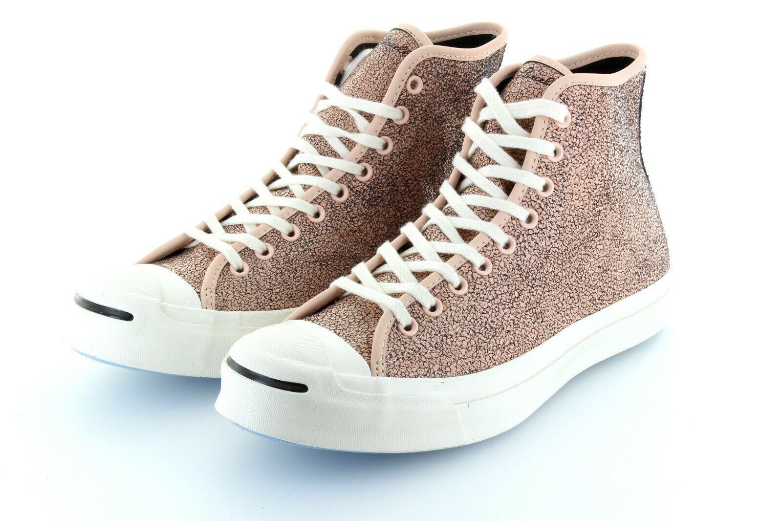 Converse Jack Purcell Hi Champagner Damage Leather Limited 42,5   43 US9