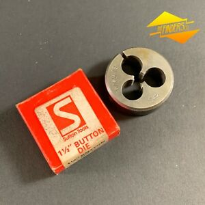 """5//16/"""" x 18TPI BSW Button Die British Standard Whitworth HSS By top brands."""