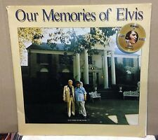 ELVIS PRESLEY Our Memories Of Elvis 1979 USA Vinyl LP EXCELLENT CONDITION