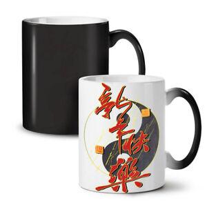 Chinese Year NEW Colour Changing Tea Coffee Mug 11 oz   Wellcoda