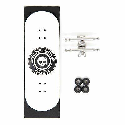33.5MM x 97MM Skull Fingerboards WhiteWalker G2 Wooden Complete Fingerboard