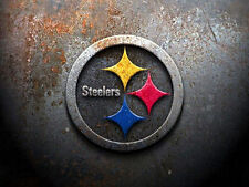 Pittsburgh Steelers Edible Birthday Cake Image Topper 1/4 Sheet Icing Frosting