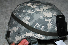 BRAND NEW ORIGINAL US ARMY ISSUE - SDS HELMET WITH ACU COVER - LARGE