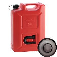 Hünersdorff Benzinkanister Kraftstoff Kanister rot 20 L UN-Zulassung Liter