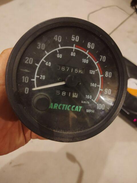 1996 Arctic Cat Zrt 600 Speedometer Speedo 96
