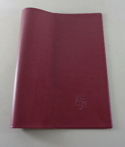 Document-Kit-Wine-Red-for-Porsche-911-928-914-924-and-944-Mj-1974-1989