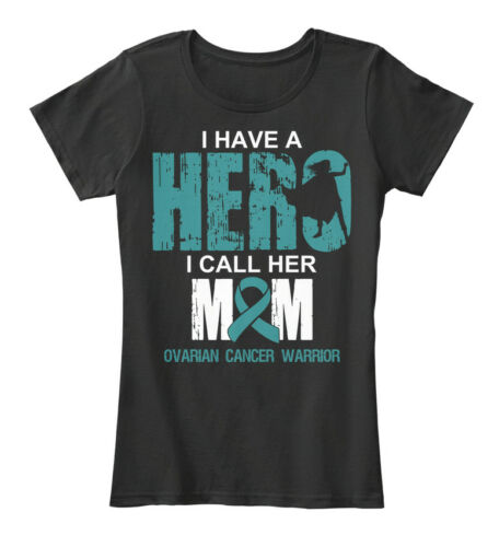I Have A Call Women/'s Premium Tee T-Shirt Hero MomOvarian Cancer Warrior