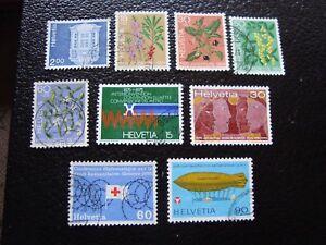Switzerland-Stamp-Yvert-and-Tellier-N-971-A-979-Obl-A2-Stamp-Switzerland-Z
