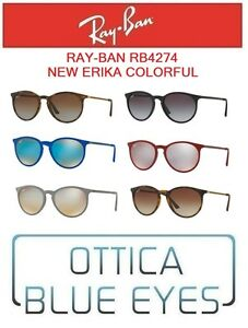 Occhiali-da-Sole-RAYBAN-RB4274-NEW-ERIKA-COLORFUL-Sunglasses-Ray-Ban-Gafas-sol