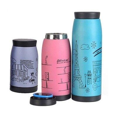 Tea Water Travel Coffee Flask Vacuum Thermos Bottle Insulated Mug 250/350/500ml