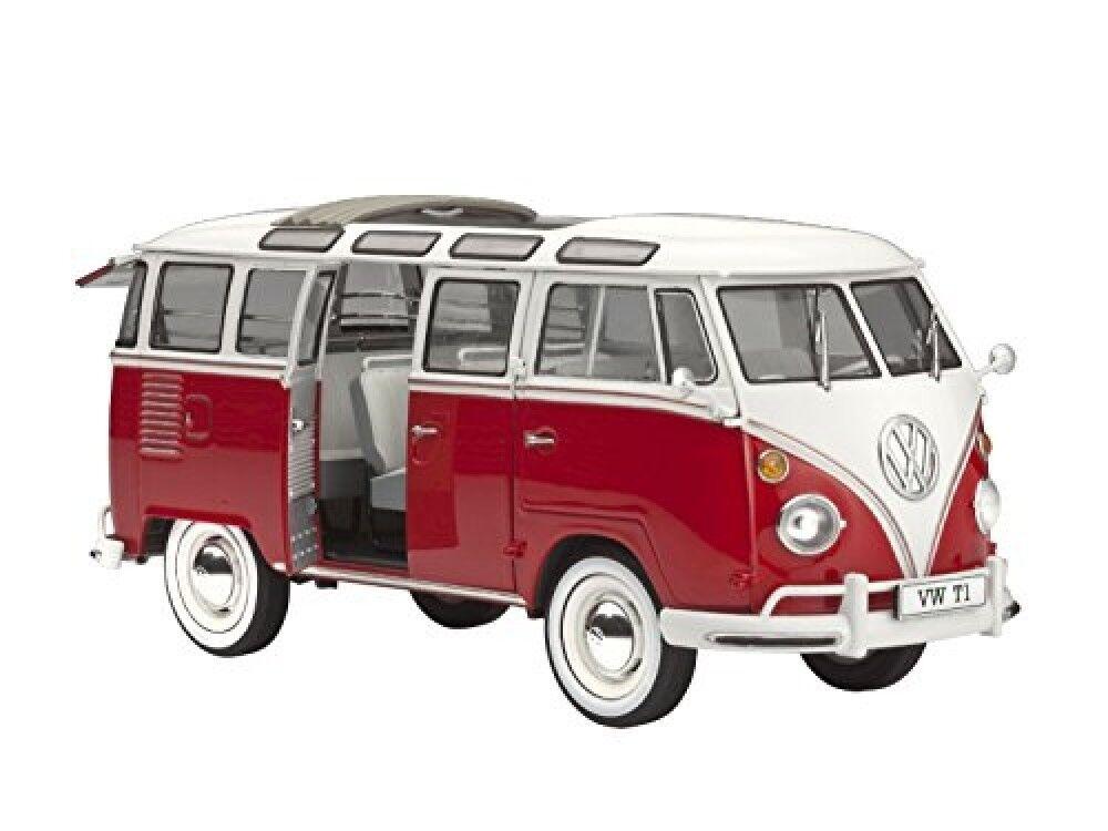 Revell 1 24 Volkswagen  T1 Samba Bus 07399 Model Kit Play Vehicles Car