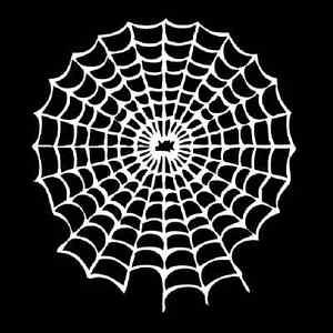 airbrush schablone stencil spinnennetz spider art nr. Black Bedroom Furniture Sets. Home Design Ideas