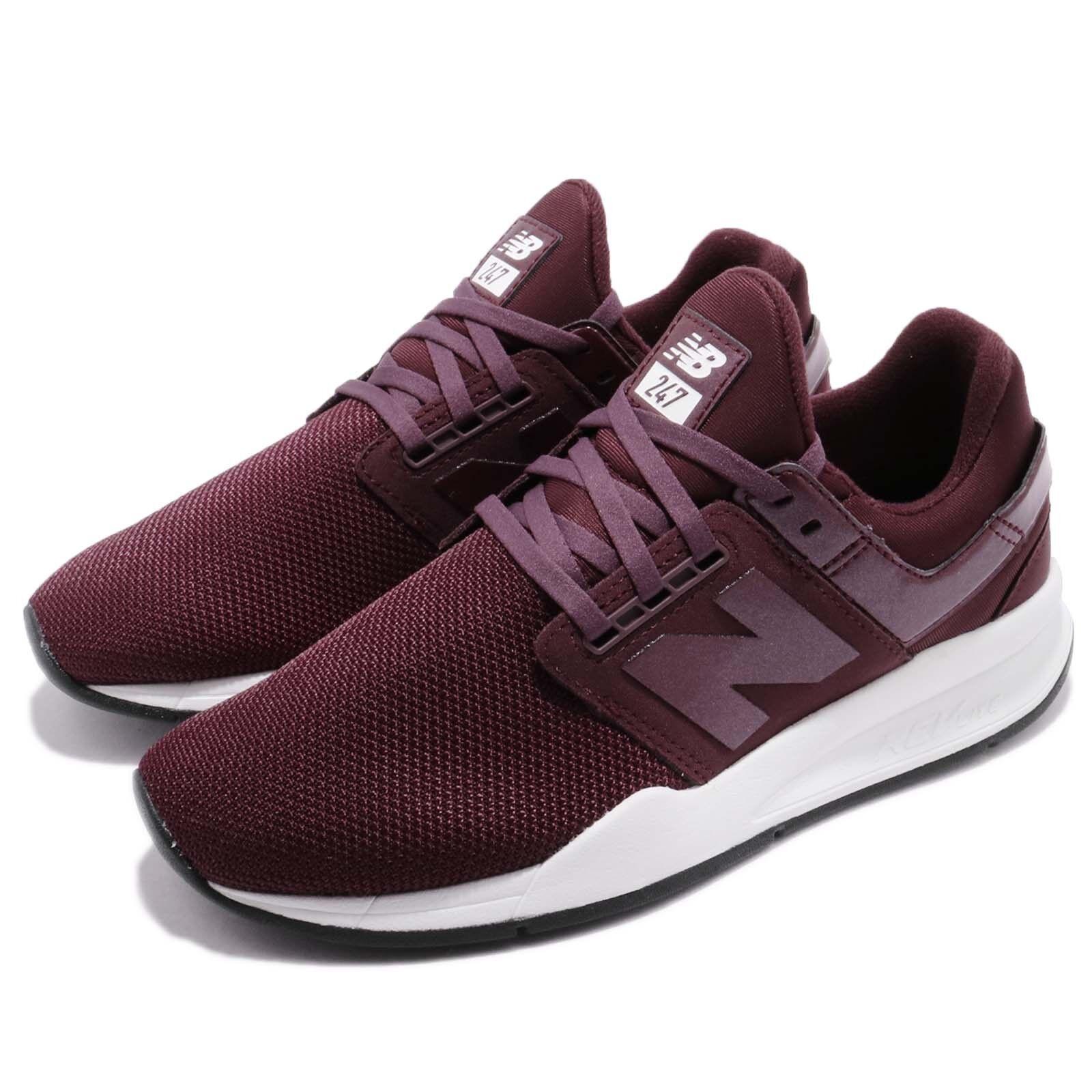 New balance WS247UA B B B blancoo Borgoña para Mujer Estilo De Vida Zapatos Para Correr WS247UAB  ordene ahora los precios más bajos