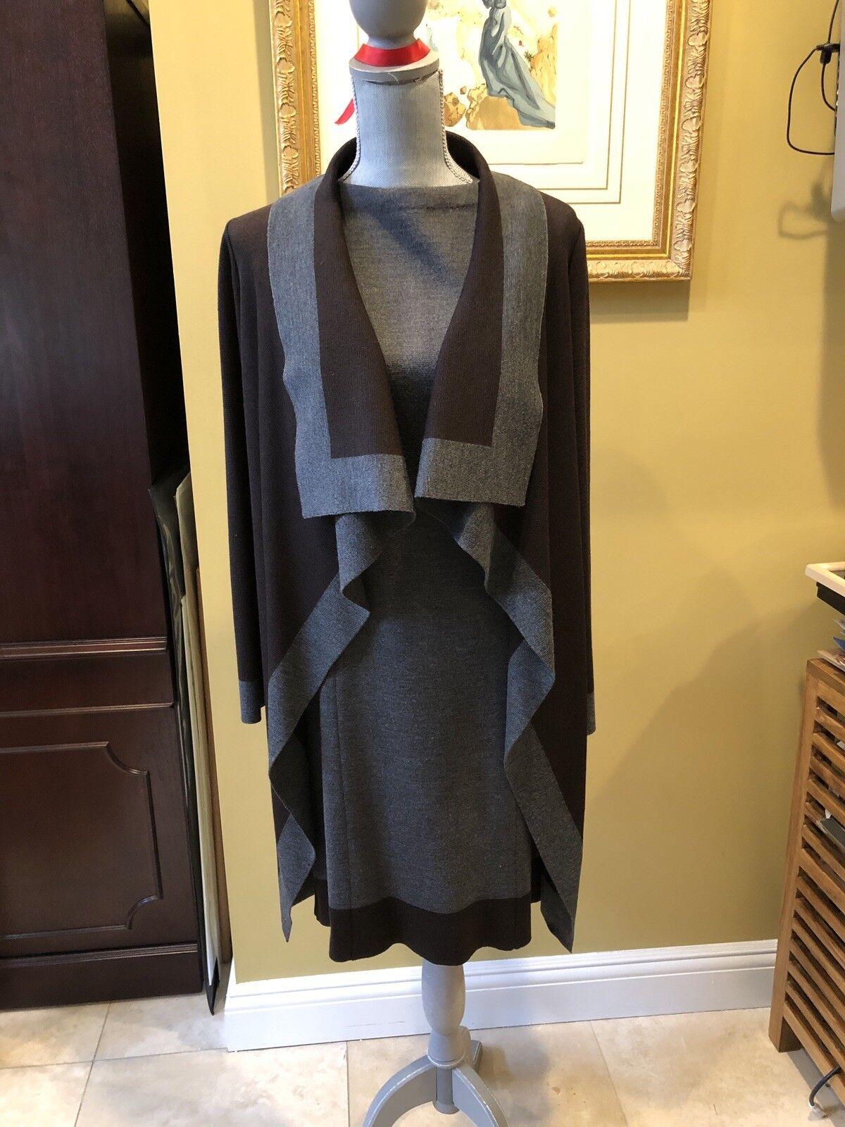 St. John vestido  sin mangas con chaqueta talla 4, Wow     envío gratis