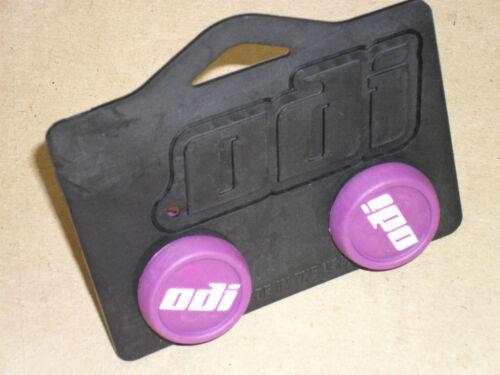 PURPLE NEW! ODI Bar End Plugs Bike Micro Scooter BMX Grips