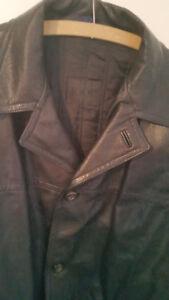 taglia Giubbotto cappotto in L pelle in Joop pelle wwOCvgq