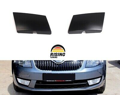 Front Bumper Covers for Skoda Octavia A7 2013-2017 RS Style abs plastic tuning