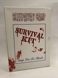 SLEEPAWAY-CAMP-SURVIVAL-KIT-rare-US-3-disc-DVD-BOX-SET-cult-80s-slasher-horror