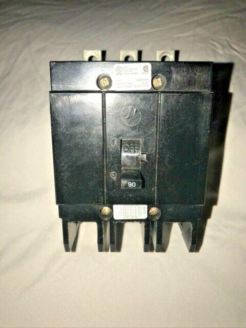 Cutler Hammer GHB3090 3 Pole 90 Amp Breaker for sale online