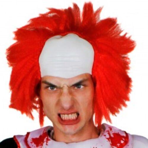 Halloween Clown Scary Wig Wear it for Halloween or Fancy Dress One Size