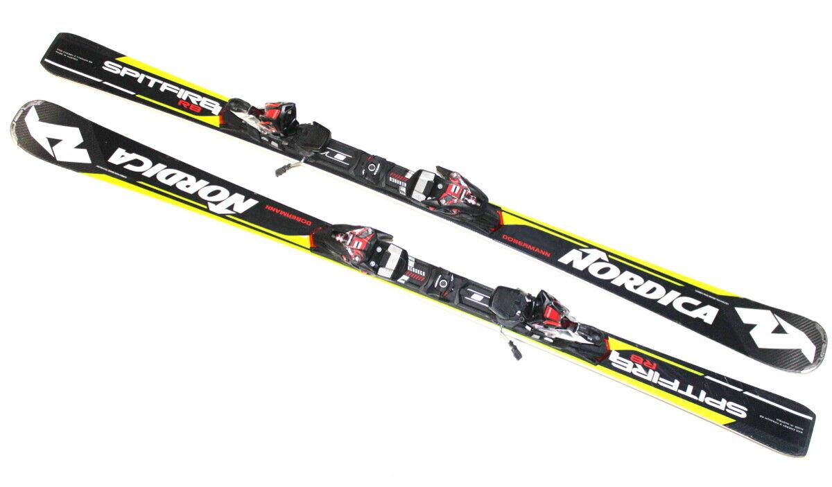 Ski Nordica Dobermann Spitfire RB EVO Testski 162 cm inkl. Bindung Race Ski X19
