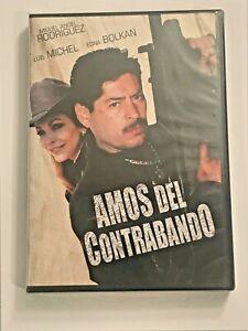 Amos-Del-Contrabando-DVD-Miguel-Angel-Rodriguez-Luis-Michel-New-Sealed