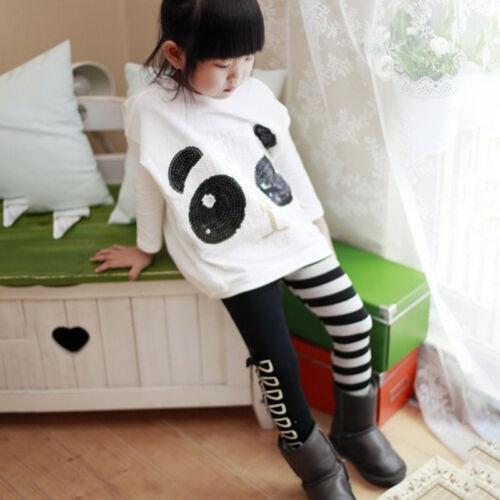 Kinder Mädchen Karikatur Sports Set Langarm Pullover Jogginghosen Traininganzug