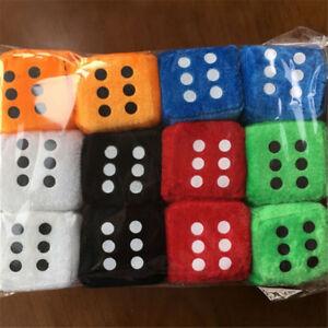 1PC-8cm-8cm-8cm-Plush-Dice-Plush-Stuffed-Toy-Pendant-Kids-Gift-Color-Random-new