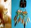 thumbnail 3 - TOPSHOP LONG EARRINGS BEADED TASSEL SPIKE AZTEC STATEMENT EARRINGS BRAND NEW