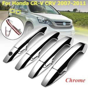 8pcs-ABS-Chrome-Side-Door-Handle-Cover-Trim-For-Honda-REPLACEMENT-Handle-Covers