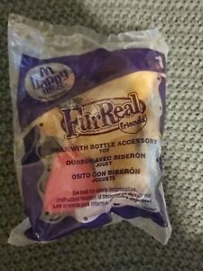 10 Avail. Mcdonalds Happy Meal FurReal Friends Bear With Bottle Accessory Plush