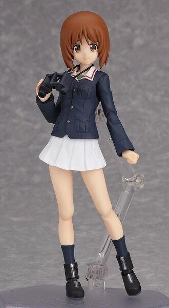 Figma 211 211 211 Girls und Panzer Miho Nishizumi Figure Max Factory 1a651d