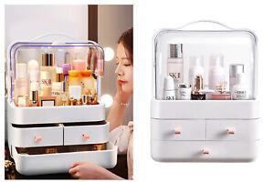 Organizer box cosmetici 3 cassetti maniglia antipolvere espositore makeup LD-288