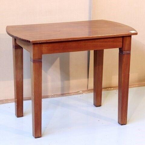 Salonbord, mahogni