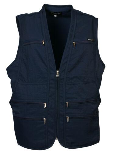 uksp mens utility multi pockets hunting fishing shooting hiking vest waistcoat